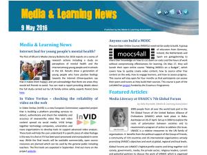 InVID at Media and Learning News