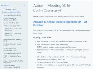 InVID at the IPTC Autumn Meeting 2016