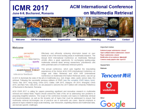 InVID project at ICMR2017