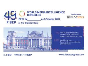 InVID at FIBEP World Media Intelligence Congress 2017