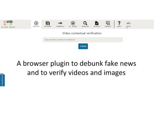 New release of InVID Verification Plugin