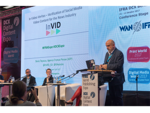 InVID at World Digital Content and IFRA Expo