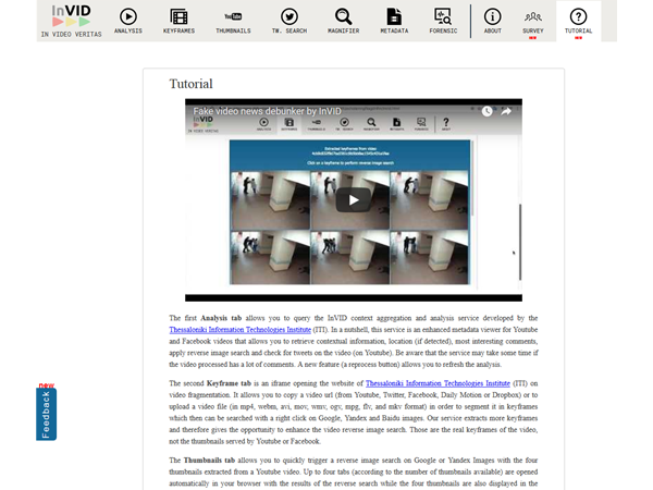 video verification Archives - InVID project