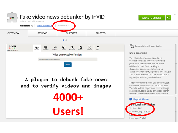 fake video debunker tool Archives - InVID project