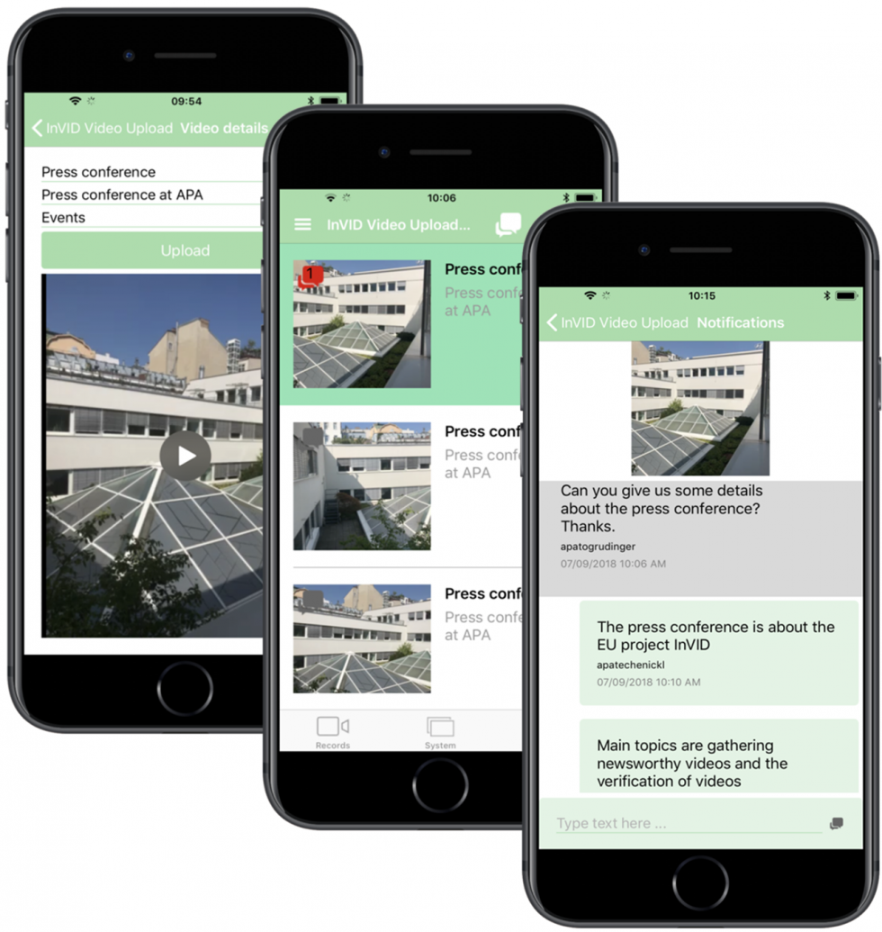 InVID Mobile Application - InVID project